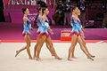 Belarus Rhythmic gymnastics team 2012 Summer Olympics 02.jpg