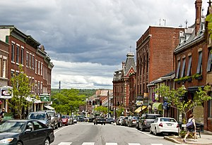 Belfast, Maine - Main St., Belfast, ME