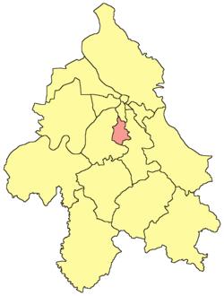 opstina cukarica mapa Gradska opština Rakovica — Vikipedija, slobodna enciklopedija opstina cukarica mapa