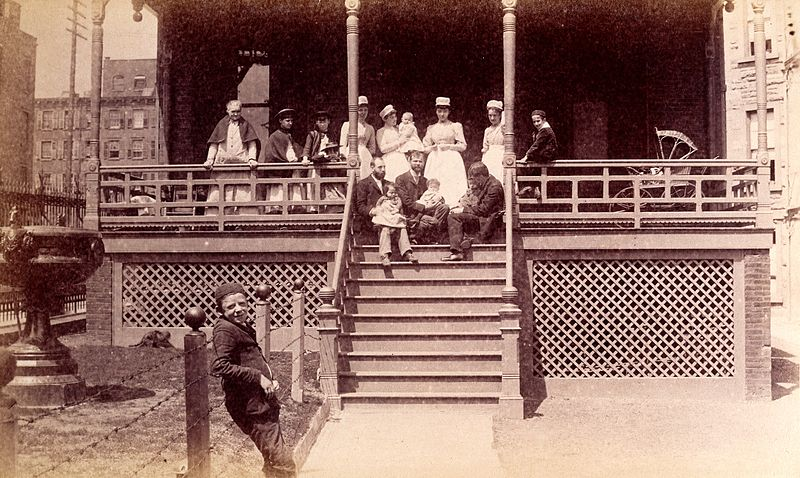File:Bellevue Hospital, New York City; children patients ...