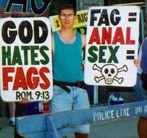 Faggot (slang) - Image: Ben Phelps