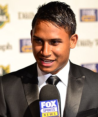National Rugby League - Ben Barba at the Dally M awards
