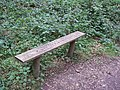"Bench - ""Courtesy of HMP Springhill"" - geograph.org.uk - 512860.jpg"