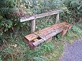 Bench on Grange Hill, West Kirby.JPG