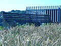 Bench with Celtic pattern in Howth Port. - panoramio.jpg
