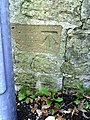 Benchmark on wall beside steps at Court Ash - geograph.org.uk - 2286765.jpg