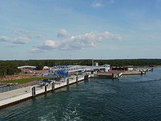 Berghamn (Åland) - Berghamn, where the Eckerö linjen ferry leaves for Sweden