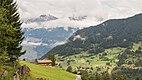 Bergtocht van Tschiertschen (1350 meter) via de vlinderroute naar Furgglis 001.jpg