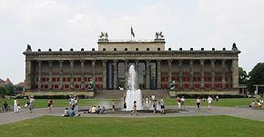 Το παλαιό μουσείο στο Βερολίνο, Καρλ Φρίντριχ Σίνκελ