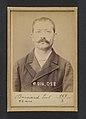 Bernard. Paul, Auguste. 32 ans, né à Crest (Drôme). Employé. Excitation au meurtre, anarchiste. 11-2-94. MET DP290167.jpg