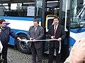 Beroun, DOD Probotrans 2007, uvedení autobusu Irisbus Crossway do provozu III.JPG