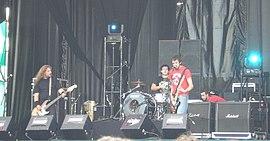 Berri Txarrak at the Azkena Rock Festival in Vitoria-Gasteiz
