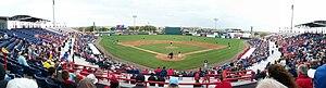 Space Coast Stadium - Image: Best panorama Nationals