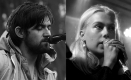 Conor Oberst (left) and Phoebe Bridgers (right), the two members of Better Oblivion Community Center
