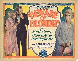 <i>Beware of Blondes</i> (1928 film) 1928 film