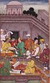 Bhisma and Yudhisthira Discuss the Issue of Trust Mughal.jpg