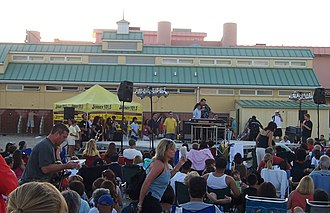 WKXW - Big Joe Henry hosting his annual Talent Show finals, Point Pleasant Beach, August 2008