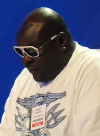 Christopher Boykin - Big Black in June 2010 in Los Angeles