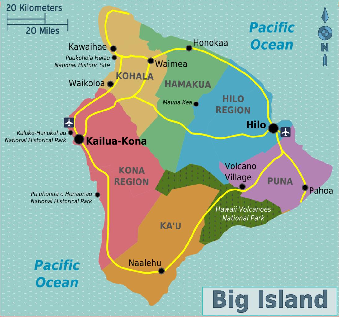 Waimea Town Big Island