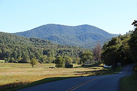 Big John Dick Mountain, Fannin County, Georgia.JPG