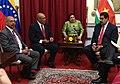 Bilateral meeting president bouterse en president maduro te caracas 27 mei 2013.jpg