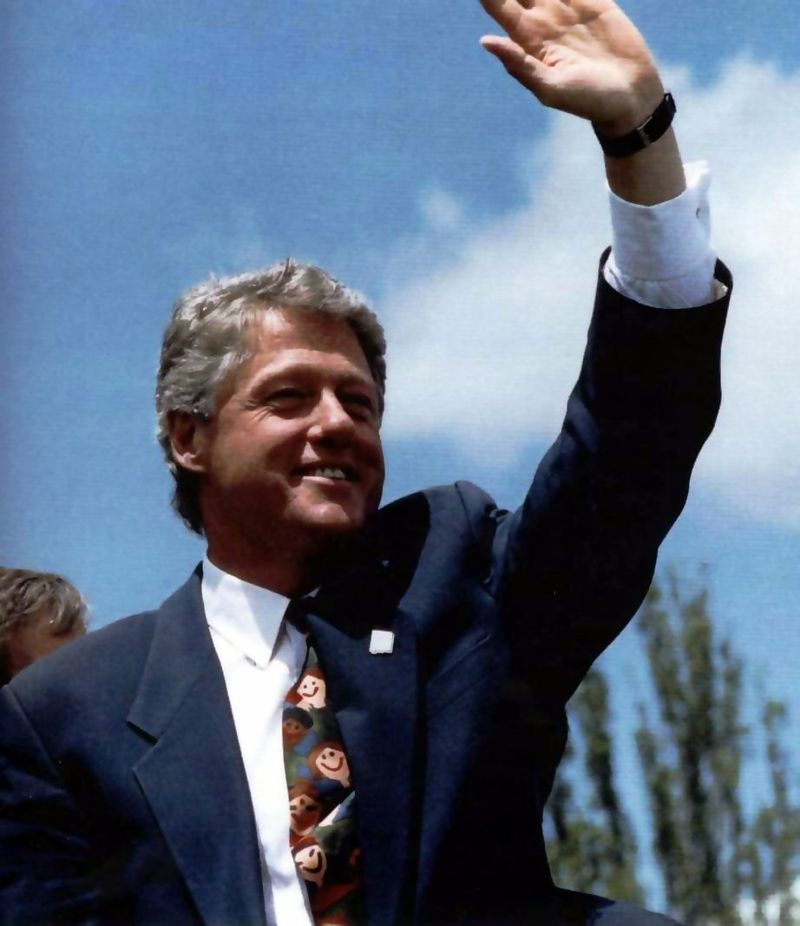 Bill Clinton visit to Los Alamos.jpg