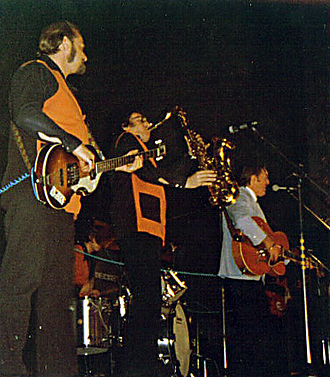 Bill Haley - Bill Haley and the Comets performing in 1974