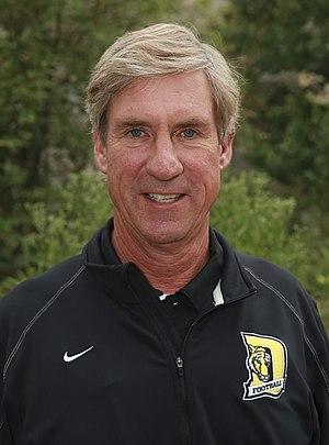 Bill Lynch - DePauw University head football coach Bill Lynch, 2014