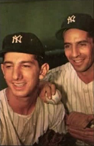 Billy Martin - Martin (left) with Phil Rizzuto in the 1950s.