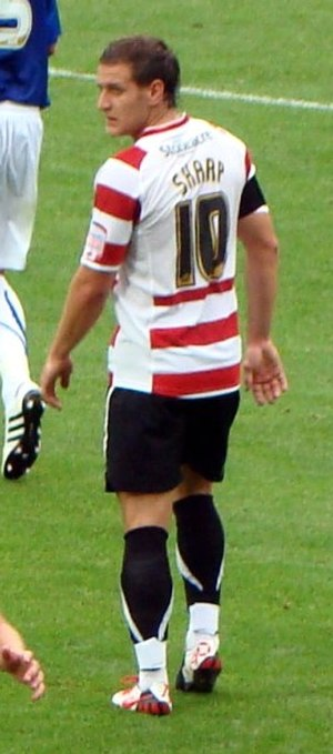 Billy Sharp - Sharp playing for Doncaster Rovers in 2010