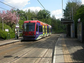The Crescent tram stop - The Crescent tram stop