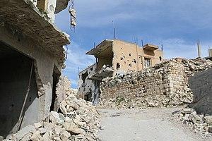 Bint Jbeil - Center of Bint Jbeil after the war