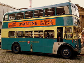 Birkenhead Transport bus 152 (GCM 152E), 30 September 2011 (2).jpg