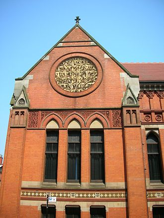 Birmingham School of Art - Birmingham School of Art rose.