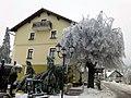 Bitoraj Hotel Restaurant - Fužine, Winter 2014 - panoramio.jpg