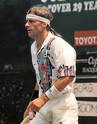 Björn Borg - Borg in 1991