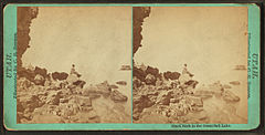 Black Rock in the Great Salt Lake, by Savage, C. R. (Charles Roscoe), 1832-1909.jpg