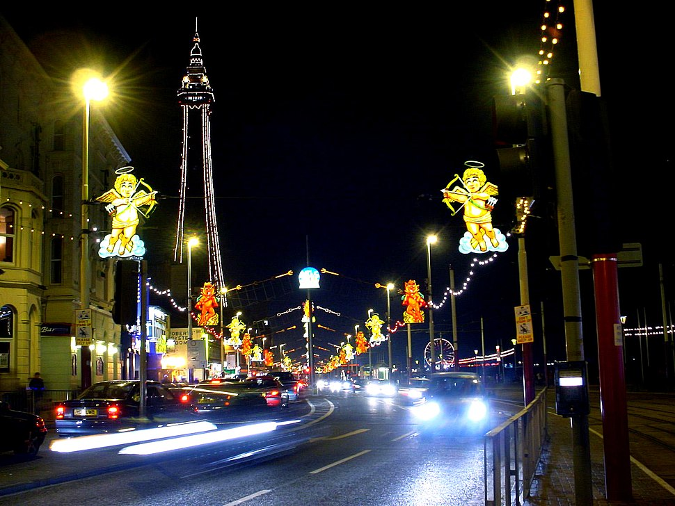 Blackpool Illuminations and Tower