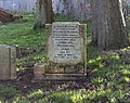 Blamire (William aka Bert Edgar) grave cleaned, Anfield Cemetery.jpg