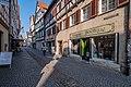 Blick in der Kornhausstraße in Tübingen von der Hirschgasse aus 2019 002.jpg