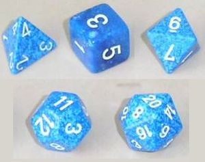 Platonic solid - A set of polyhedral dice.