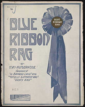 May Aufderheide - Image: Blue Ribbon Rag 1