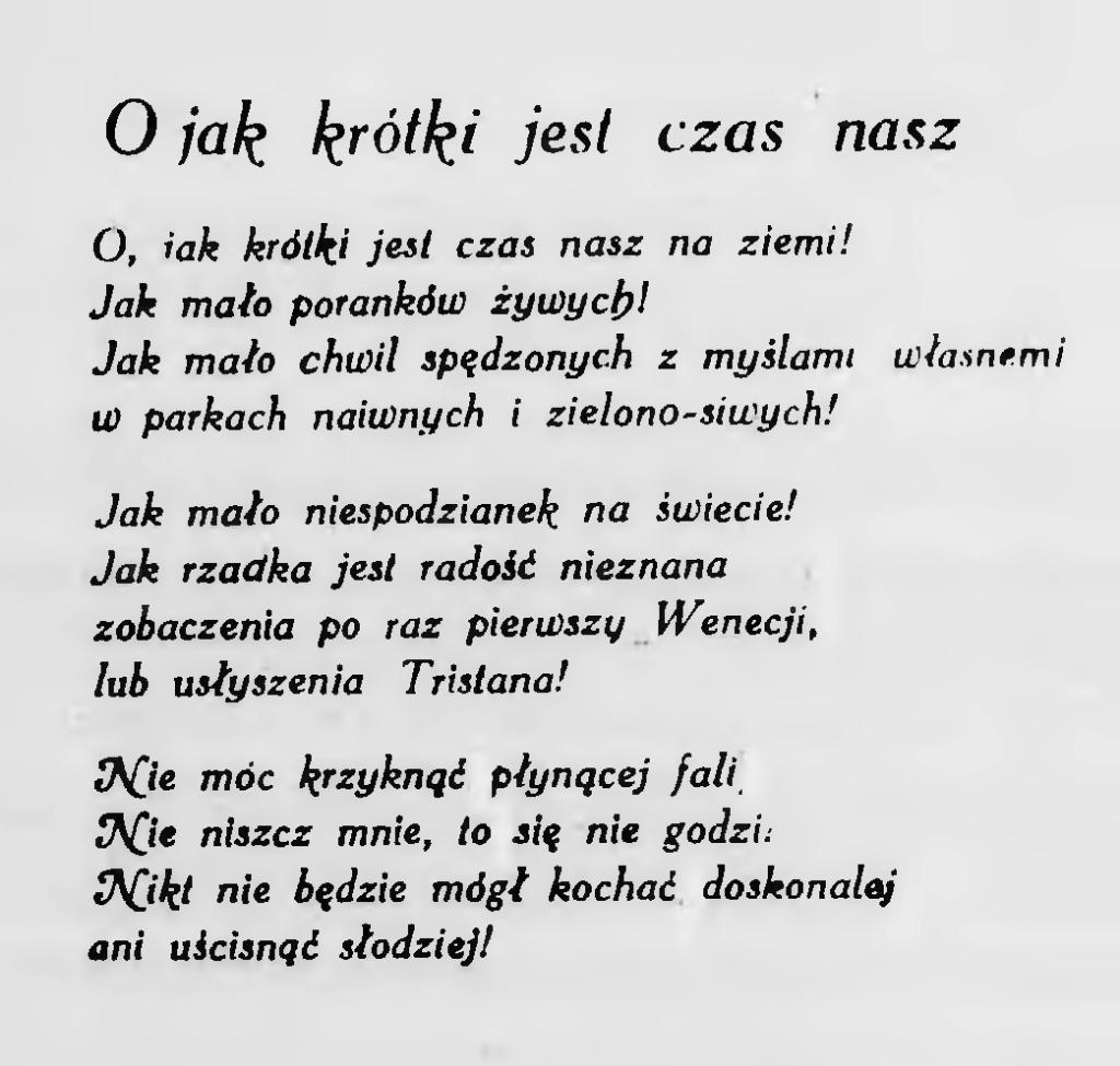 Stronabluszcz 1926 Wiersze Hrabiny De Noaillesdjvu2