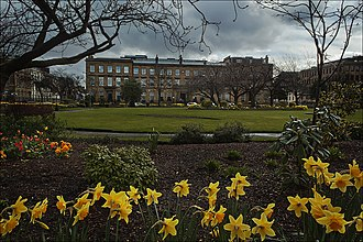 Blythswood Square - Blythswood Square, Glasgow, created in the 1820s.