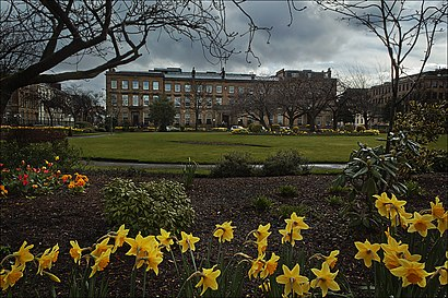 How to get to Blythswood Square with public transport- About the place