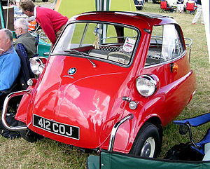 Bubble car - A BMW Isetta 300