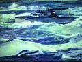 Boating on rough waters in the trailer for Niagara.jpg