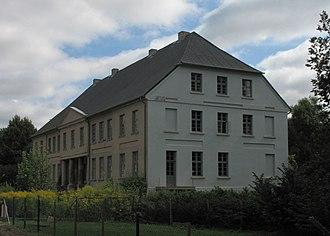 Behren-Lübchin - Manor in Bobbin