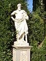 Boboli, terzo incrocio del viottolone, esculapio.JPG