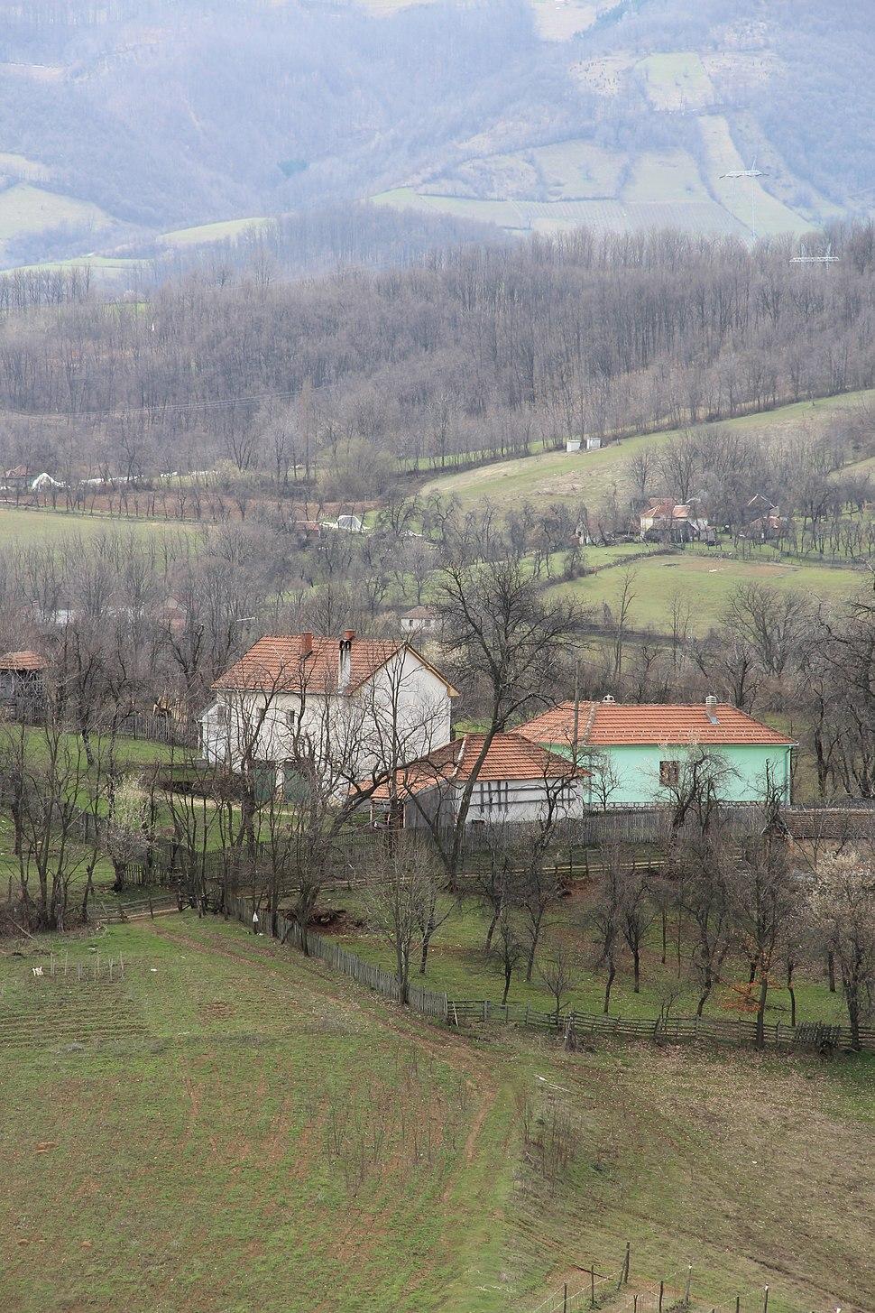 Bogatić - opština Valjevo - zapadna Srbija - panorama 11